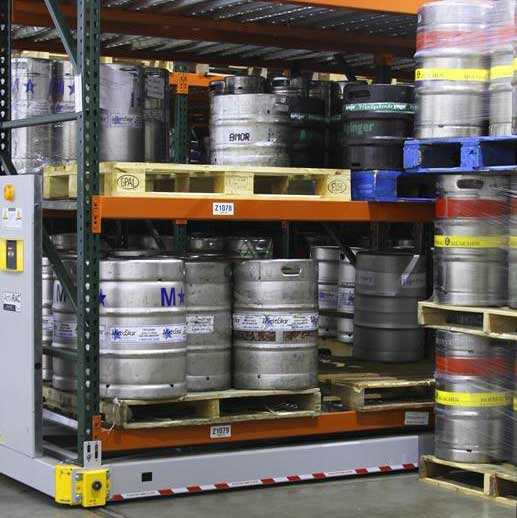 industrial cold storage powered system