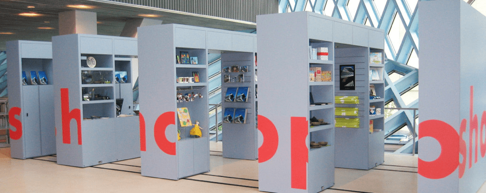 Seattle Public Library Compacting Kiosk by Spacesaver