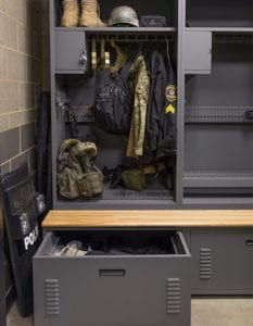 police station special response lockers
