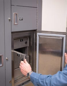 public safety refrigerated temporary evidence lockers
