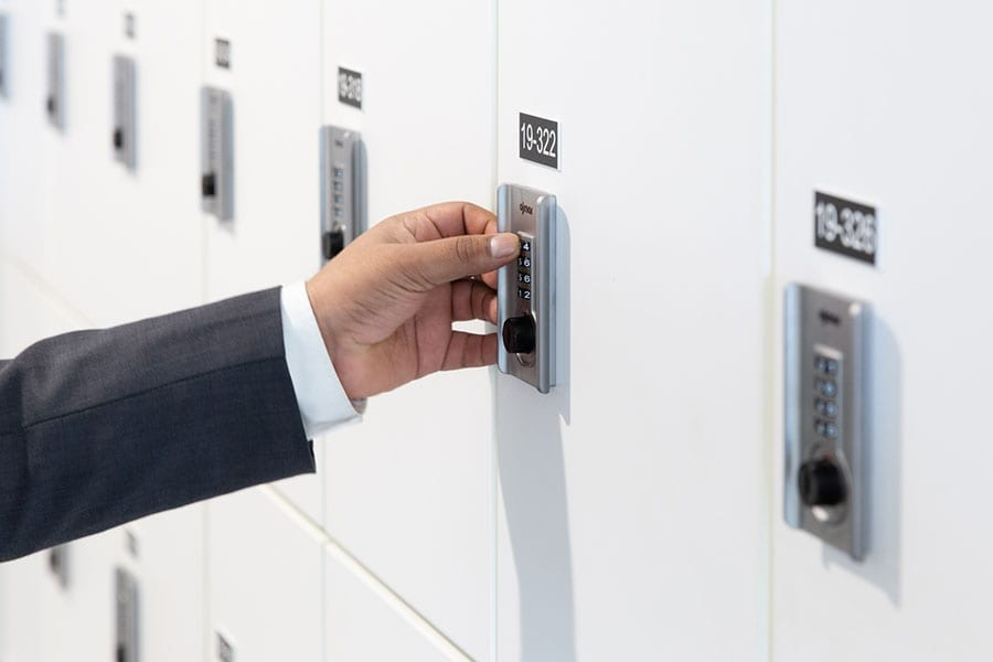 day use lockers secure options