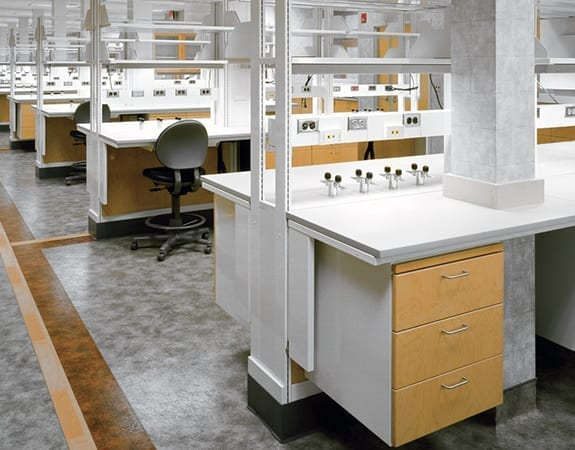 lab casework science stations