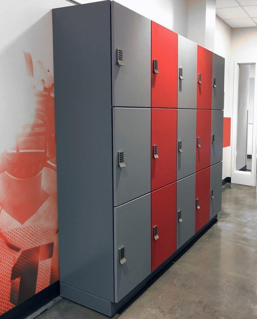 Athletic Lockers Dual-Colored