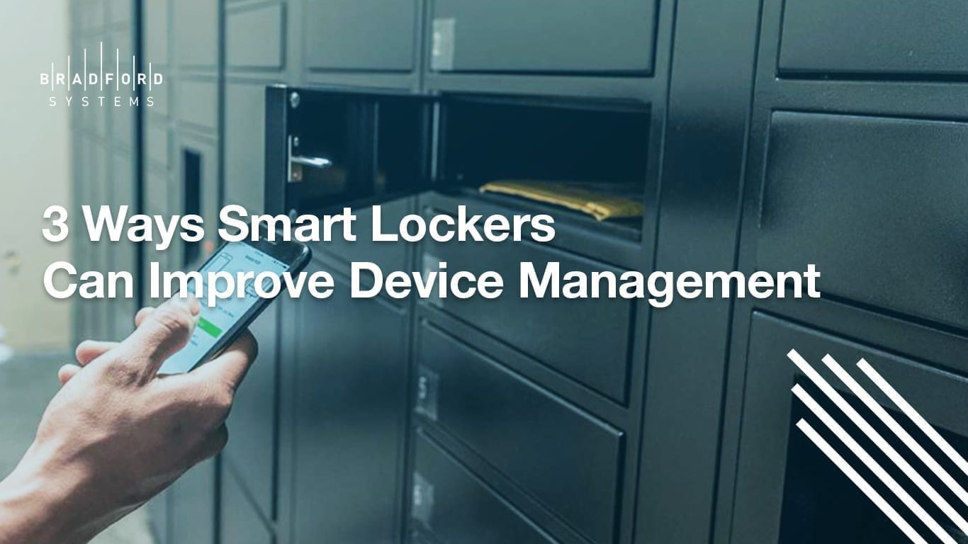 3 Ways Smart Lockers Can Improve Device Management