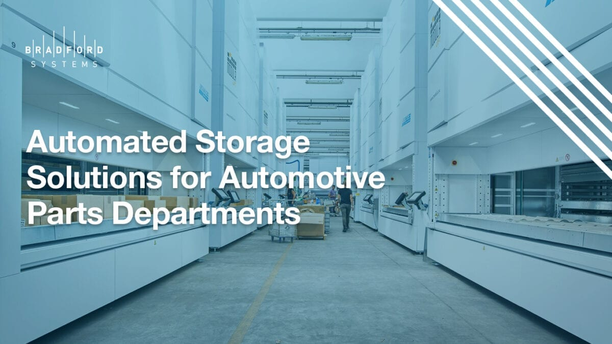 Automated Storage Solutions for Automotive Parts Departments