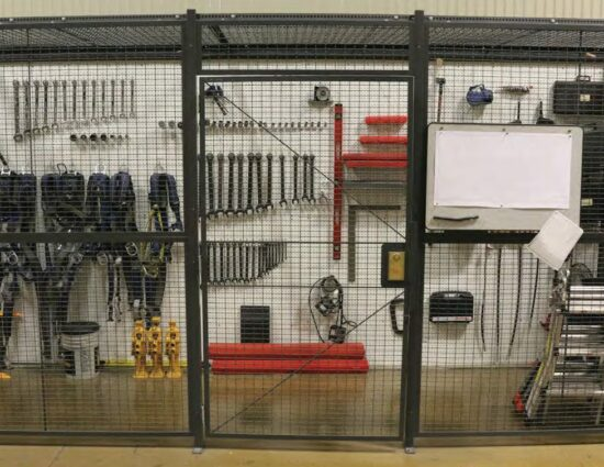 Drivers Cage Tool Shed
