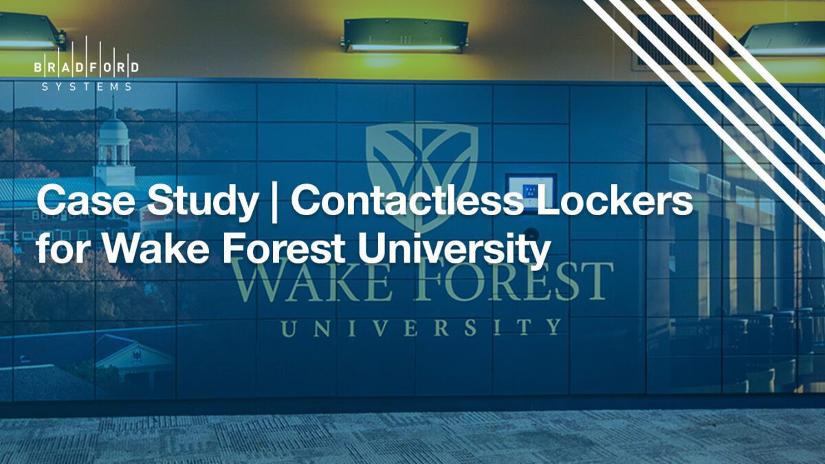 Case Study Contactless Lockers for Wake Forest University