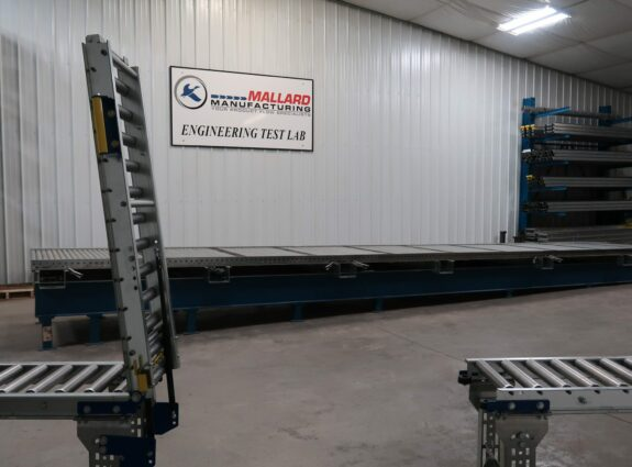Gravity Conveyor with Access Section